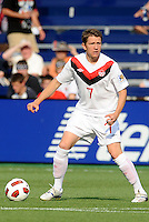Terry Dunfield midfielder Canada in action...Canada and Panama tied 1-1 in Gold Cup play at LIVESTRONG Sporting Park, Kansas City, Kansas.