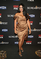 HOLLYWOOD, CA - OCTOBER 12: Amber Kellehan, at the 21st Screamfest Opening Night Screening Of The Retaliators at Mann Chinese 6 Theatre in Hollywood, California on October 12, 2021. Credit: Faye Sadou/MediaPunch