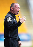 St Johnstone v Inverness Caley Thistle...08.08.15...SPFL..McDiarmid Park, Perth.<br /> Yogi Hughes screams instructions<br /> Picture by Graeme Hart.<br /> Copyright Perthshire Picture Agency<br /> Tel: 01738 623350  Mobile: 07990 594431