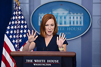 OCT 13 White House Press Secretary Jen Psaki holds a news briefing