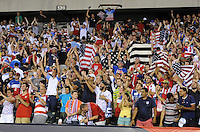 Philadelphia, PA - Saturday June 11, 2016: Fans  during a Copa America Centenario Group A match between United States (USA) and Paraguay (PAR) at Lincoln Financial Field.