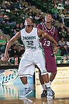 North Texas Mean Green guard/forward Roger Franklin (32) in action during the game between the Arkansas Little Rock Trojans and the North Texas Mean Green at the Super Pit arena in Denton, Texas. UALR defeats UNT 62 to 57...