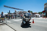 A officer competes during Legends of the West in Carson City, Nev., on Saturday June 22, 2013.<br /> (Photo by Kevin Clifford/Nevada Photo Source)
