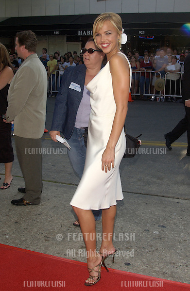 Actress ARIELLE KEBBEL at the world premiere, in Los Angeles, of The Stepford Wives..June 6, 2004