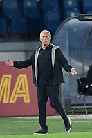 23rd September 2021;  Stadio Olimpicom, Roma, Italy; Serie A League Football, Roma versus Udinese;Jose Mourinho coach of As Roma