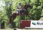 11 July 2009: Allison Springer riding Arthur during the cross country phase of the CIC 3* Maui Jim Horse Trials at Lamplight Equestrian Center in Wayne, Illinois.