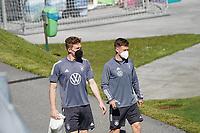 Marcel Halstenberg (Deutschland Germany), Joshua Kimmich (Deutschland Germany) - Seefeld 28.05.2021: Trainingslager der Deutschen Nationalmannschaft zur EM-Vorbereitung