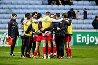 Photo: Richard Lane/Richard Lane Photography. Wasps v Toulouse.  European Rugby Champions Cup. 08/12/2018. Toulouse huddle.