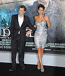Halle Berry and Olivier Martinez at The Warner Bros. Pictures L.A. Premiere of Cloud Atlas held at The Grauman's Chinese Theatre in Hollywood, California on October 24,2012                                                                               © 2012 Hollywood Press Agency