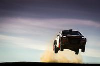 10th October 2020, Alghero, Sardinia, Italy; WRC Rally of Sardinia;   Bulacia gets airborne