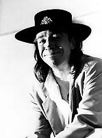 Stevie Ray Vaughan  au Music Fest Miller en aout 1986 - PHOTO D'ARCHIVE :  Agence Quebec Presse