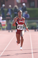 4 May 2008: Stanford Cardinal Sarah Griffin Matthew during Stanford's Payton Jordan Cardinal Invitational at Cobb Track & Angell Field in Stanford, CA.