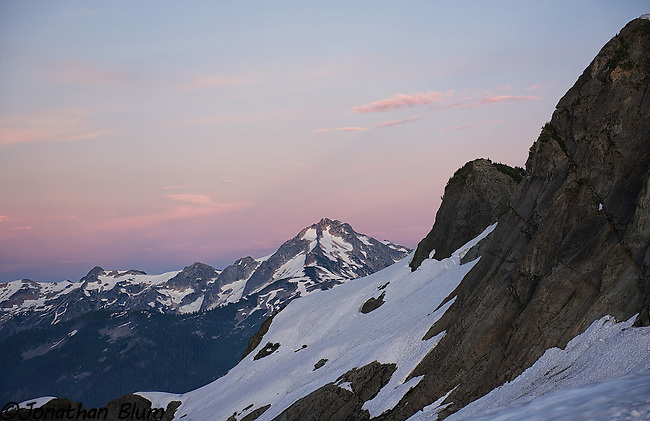 Mountains in a Row, North Cascades National Park
