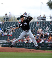 Dylan Cease - Chicago White Sox 2020 spring training (Bill Mitchell)