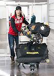 Braydon Luscombe, Sochi 2014.<br /> Team Canada arrives at the airport in Sochi for the Sochi 2014 Paralympic Winter // Équipe Canada arrive à l'aéroport de Sotchi pour Sochi 2014 Jeux paralympiques d'hiver. 03/03/2014.