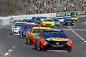 2017 Monster Energy NASCAR Cup Series<br /> O'Reilly Auto Parts 500<br /> Texas Motor Speedway, Fort Worth, TX USA<br /> Sunday 9 April 2017<br /> Martin Truex Jr, Bass Pro Shops/TRACKER BOATS Toyota Camry and Joey Logano<br /> World Copyright: Russell LaBounty/LAT Images<br /> ref: Digital Image 17TEX1rl_4082