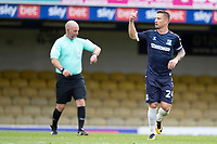 Jason Demetriou, Southend United with the thumbs up after his successful penalty during Southend United vs Exeter City, Sky Bet EFL League 2 Football at Roots Hall on 10th October 2020