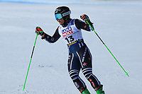 18th February 2021; Cortina d'Ampezzo, Italy;  FIS Alpine World Ski Championships 2021 Cortina  Women's Giant Slalom,  Alice Robinson (NZL)