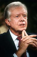 Jimmy Carter 1983<br /> Photo By Adam Scull/PHOTOlink.net