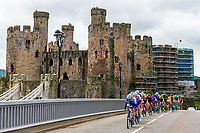 Picture by Alex Whitehead/SWpix.com - 17/06/2018 - Cycling - 2018 OVO Energy Women's Tour - Stage 5, Dolgellau to Colwyn Bay - Conwy Castle
