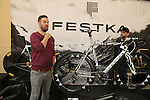 Festka Cycles at BESPOKED UK Handmade Bicycle Show 2015 held in the Brunel Engine Shed at Temple Meads Station and the Arnolfini Centre in Bristol, England. 18th April 2015.<br /> Photo: Eoin Clarke www.newsfile.ie