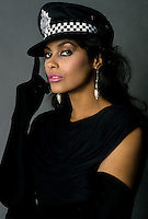 EXCLUSIVE - Undated file photo of Canadian singer Denise Matthews aka VANITY studio shoot circa 1984.<br /> <br /> She passed away at age 57, this February 2016.<br /> <br /> Photo :  Harold Beaulieu - Agence Quebec Presse