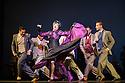 "London, UK. 29.02.2016. German Cornejo's ""Immortal Tango"" opens at the Peacock Theatre. The dancers are: German Cornejo, Gisela Galeassi, Jose Fernandez, Martina Waldman, Max Van De Voorde, Solange Acosta, Mariano Balois, Sabrina Amuchastegui, Leonard Luizaga, Mauro Caiazza, Tere Sanchez Terraf, Julio Seffino, Carla Dominguez. Photograph © Jane Hobson."