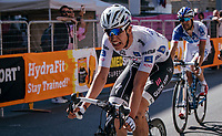 Bob Jungels (LUX/Quick-Step Floors) wins Stage 15: Valdengo › Bergamo (199km) in an elite sprint against other GC contenders<br /> <br /> 100th Giro d'Italia 2017