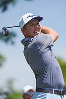 5th June 2021; Dublin, Ohio, USA; Bo Hoag (USA) watches his tee shot on 3 during the Memorial Tournament Rd3 at Muirfield Village Golf Club on June 5, 2021 in Dublin, Ohio.