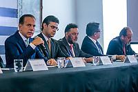 SÃO PAULO, SP, 05.02.2019: DORIA ANUNCIA PACOTE DE MEDIDAS AÉREAS -SP- O governador do Estado de São Paulo, João Doria anuncia pacote de medidas para  setor de transporte aéreo, nesta terça-feira (05), no Palácio dos Bandeirantes, em São Paulo, SP. (Foto: Marivaldo Oliveira/Código19)
