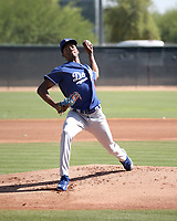 Jose Hernandez - Los Angeles Dodgers 2018 extended spring training (Bill Mitchell)