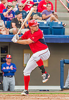 5 March 2015: Washington Nationals first baseman Ryan Zimmerman at bat during a Spring Training game against the New York Mets at Space Coast Stadium in Viera, Florida. The Nationals rallied to defeat the Mets 5-4 in their Grapefruit League home opening game. Mandatory Credit: Ed Wolfstein Photo *** RAW (NEF) Image File Available ***