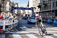 Hugh Carthy (GBR/EF Education - Nippo)<br /> <br /> 104th Giro d'Italia 2021 (2.UWT)<br /> Stage 21 (final ITT) from Senago to Milan (30.3km)<br /> <br /> ©kramon