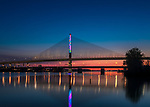 Traffic by Anthony McCarty | | Toledo Veteran's Glass City Skyway Bridge | HLB Lighting
