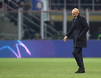 Football: UEFA Champions League -Group Stage - Group B - FC Internazionale Milano vs PSV Eindhoven, Giuseppe Meazza  (San Siro) Stadium, Milan Italy, December 11, 2018.<br /> Inter Milan's coach Luciano Spalletti at the end of  the Uefa Champions League football match between Inter Milan and PSV Eindhoven at Giuseppe Meazza  (San Siro) Stadium in Milan on December 11, 2018. <br /> The two teams draw 1-1<br /> UPDATE IMAGES PRESS/Isabella Bonotto