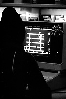 November, 1983 file photo videogame on computer