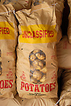 Bag of unclassified potatoes, Zacherl's Farm Market, Route 23