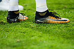 Shoes of Cristiano Ronaldo of Real Madrid are seen during the Santiago Bernabeu Trophy 2017 match between Real Madrid and ACF Fiorentina at the Santiago Bernabeu Stadium on 23 August 2017 in Madrid, Spain. Photo by Diego Gonzalez / Power Sport Images