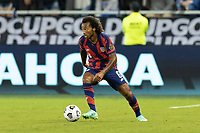 KANSAS CITY, KS - JULY 11: Gianluca Busio #6 of the United States moves with the ball during a game between Haiti and USMNT at Children's Mercy Park on July 11, 2021 in Kansas City, Kansas.