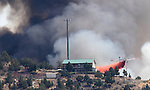 Carter Springs fire 092112
