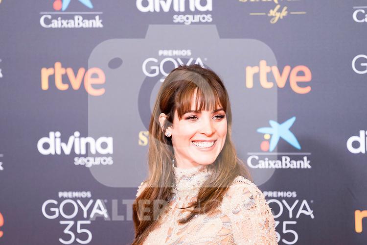 Maggie Civantos attends the red carpet previous to Goya Awards 2021 Gala in Malaga . March 06, 2021. (Alterphotos/Francis González)