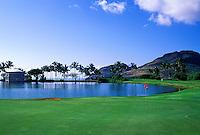 Kauai Lagoons - Kiele, No. 17, Kauai, Hawaii.  Architect: Jack Nicklaus