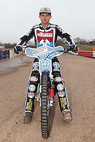 Ashley Birks of Lakeside Hammers - Lakeside Hammers Speedway Press & Practice Day at Arena Essex Raceway - 20/03/15 - MANDATORY CREDIT: Gavin Ellis/TGSPHOTO - Self billing applies where appropriate - contact@tgsphoto.co.uk - NO UNPAID USE