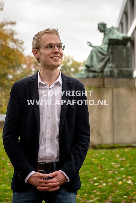 Nijmegen, 021120 - Foto Ruben Meijerink / APA FOTO<br /> Jurijn de Vos is op de Radboud Universiteit, faculteit Filosofie, Theologie en Religiewetenschappen.