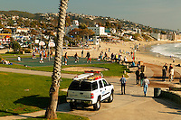 Basketball courts, Laguna Beach, California.