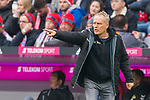 03.11.2018, Allianz Arena, Muenchen, GER, 1.FBL,  FC Bayern Muenchen vs. SC Freiburg, DFL regulations prohibit any use of photographs as image sequences and/or quasi-video, im Bild Christian Streich (Trainer Freiburg) <br /> <br />  Foto © nordphoto / Straubmeier