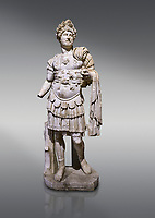 Roman statue of Emperor Hadrian. Marble. Perge. 2nd century AD. Inv no 3730-3728. Antalya Archaeology Museum; Turkey.