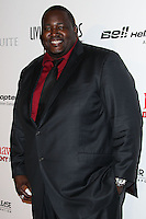 BEVERLY HILLS, CA - JANUARY 17: Quinton Aaron at the 11th Annual Living Legends Of Aviation Awards held at The Beverly Hilton Hotel on January 17, 2014 in Beverly Hills, California. (Photo by Xavier Collin/Celebrity Monitor)