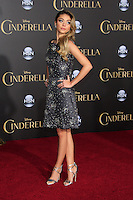 """LOS ANGELES - MAR 1:  Sarah Hyland at the """"Cinderella"""" World Premiere at the El Capitan Theater on March 1, 2015 in Los Angeles, CA"""