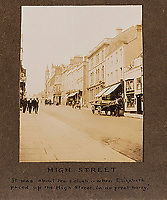 BNPS.co.uk (01202 558833)<br /> Pic: ForumAuctions/BNPS<br /> <br /> The High St in Dorchester - even in the 1920's horse and carts were still being used.<br /> <br /> Extraordinary photo album reveals Thomas Hardy as personal tour guide around his most famous novel.<br /> <br /> A personalised photograph album documenting a guided tour of 'Casterbridge' that novelist Thomas Hardy gave a literary friend has emerged almost 100 years later.<br /> <br /> The famous author showed playwright John Drinkwater the real-life locations that inspired him to write the classic 1886 novel The Mayor of Casterbridge.<br /> <br /> Mr Drinkwater took photographs of various venues that feature prominently in the novel.<br /> <br /> He also captured some of the last images of Hardy who died two years later.